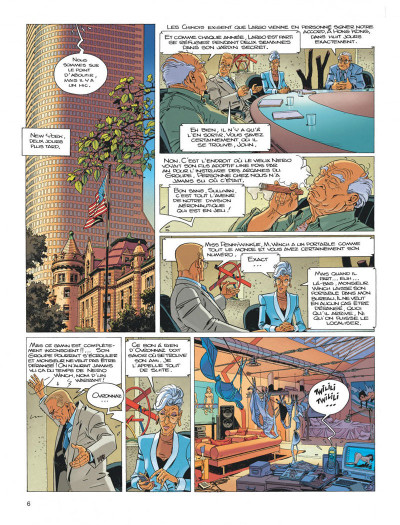 Page 6 Largo Winch diptyque tome 8