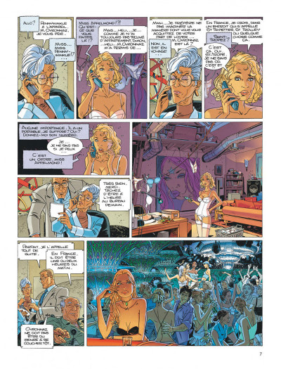 Page 7 Largo Winch diptyque tome 8
