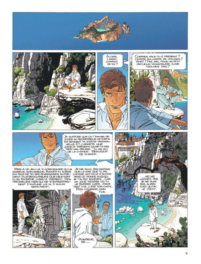 Page 9 Largo Winch diptyque tome 8