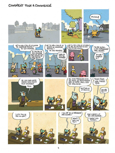 Page 3 Les cavaliers de l'apocadispe tome 1