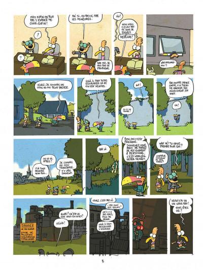 Page 5 Les cavaliers de l'apocadispe tome 1