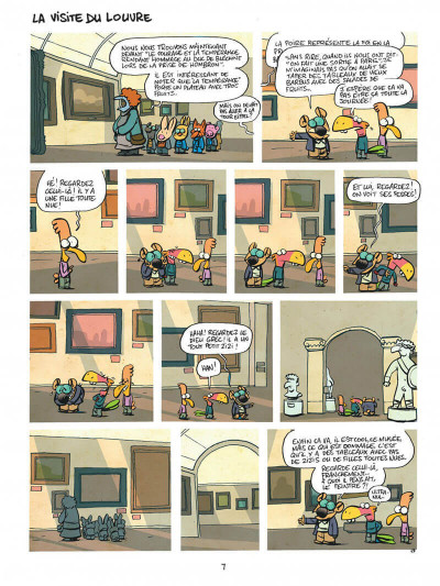 Page 7 Les cavaliers de l'apocadispe tome 1