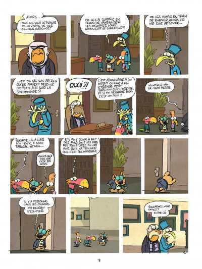 Page 8 Les cavaliers de l'apocadispe tome 1