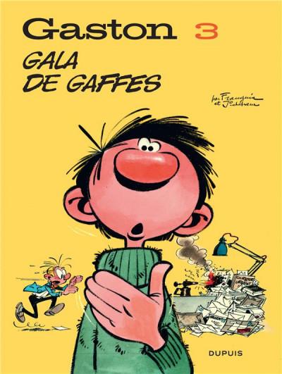 Couverture Gaston (édition 2018) tome 3