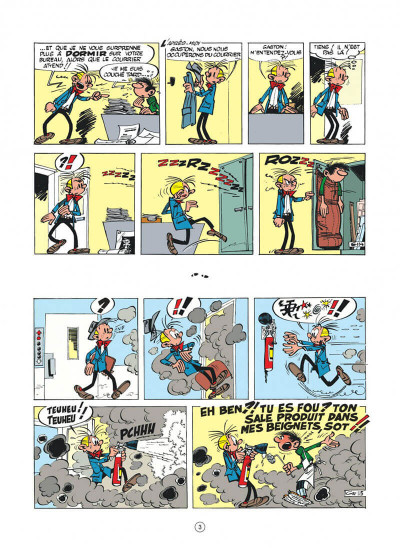 Page 3 Gaston (édition 2018) tome 3