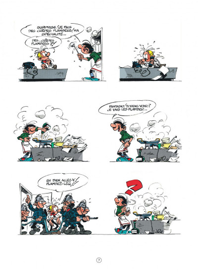Page 7 Gaston (édition 2018) tome 6