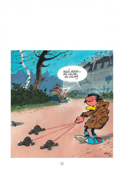 Page 9 Gaston (édition 2018) tome 7