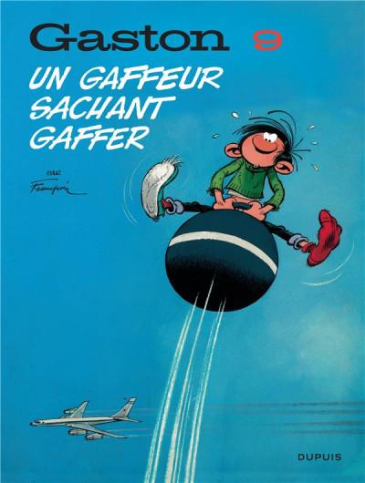 Couverture Gaston (édition 2018) tome 9