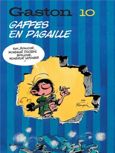 Couverture Gaston (édition 2018) tome 10