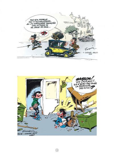 Page 3 Gaston (édition 2018) tome 11 - Lagaffe nous gâte