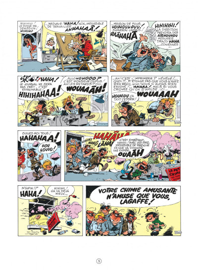 Page 5 Gaston (édition 2018) tome 11 - Lagaffe nous gâte