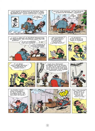 Page 6 Gaston (édition 2018) tome 11 - Lagaffe nous gâte