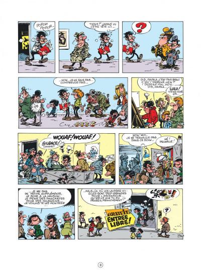 Page 9 Gaston (édition 2018) tome 11 - Lagaffe nous gâte