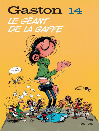 Couverture Gaston (édition 2018) tome 14