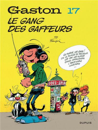 Couverture Gaston (édition 2018) tome 17