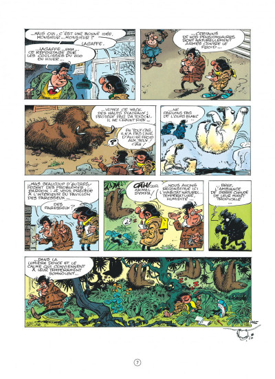 Page 7 Gaston (édition 2018) tome 17