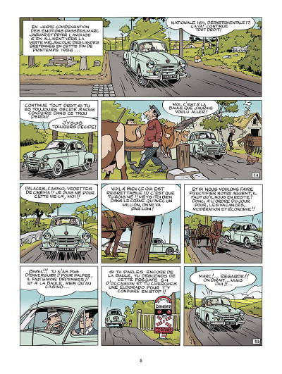 Page 6 Marc Jaguar T.2 - les camions du diable