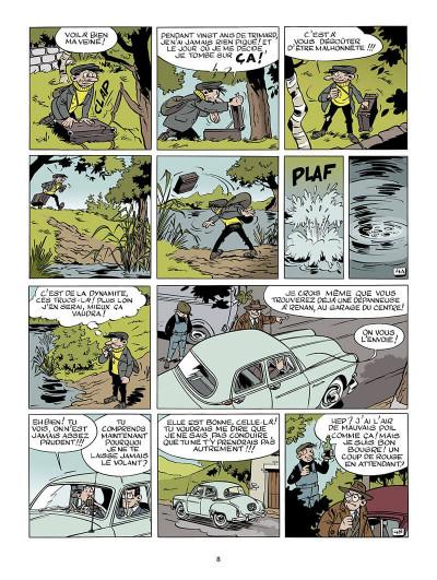 Page 9 Marc Jaguar T.2 - les camions du diable