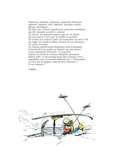 Page 3 Gaston hors série tome 6 - Lagaffe champion !