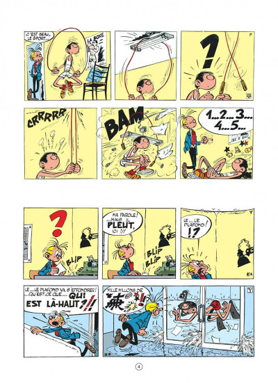 Page 4 Gaston hors série tome 6 - Lagaffe champion !
