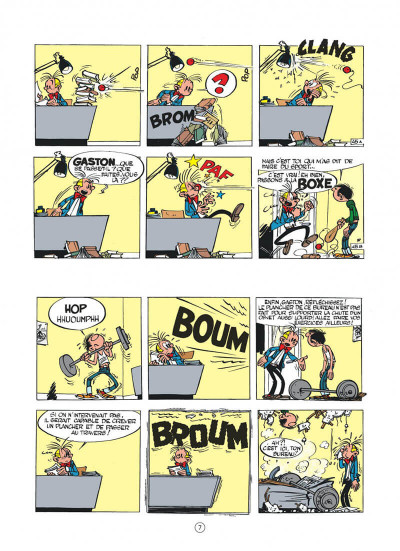 Page 7 Gaston hors série tome 6 - Lagaffe champion !