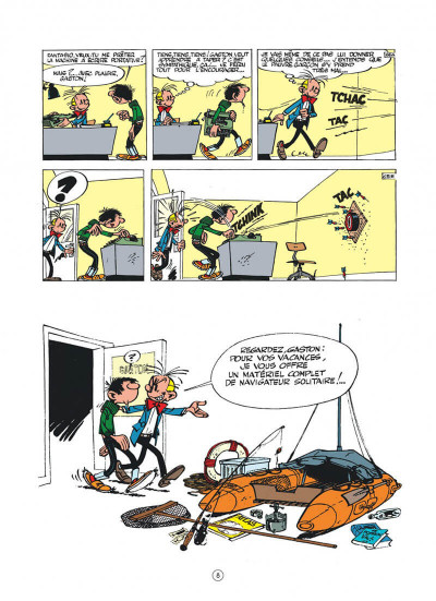 Page 8 Gaston hors série tome 6 - Lagaffe champion !