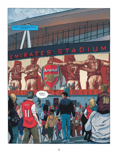 Page 3 Arsenal FC tome 1