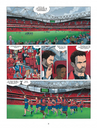 Page 4 Arsenal FC tome 1