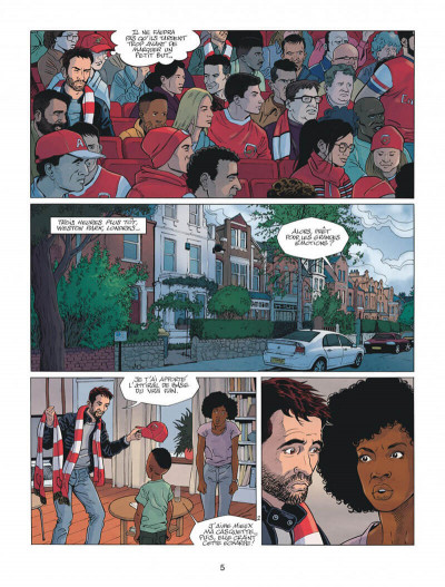 Page 5 Arsenal FC tome 1
