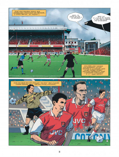 Page 8 Arsenal FC tome 1