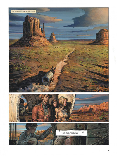 Page 2 Wild west tome 1