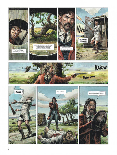 Page 6 Wild west tome 1