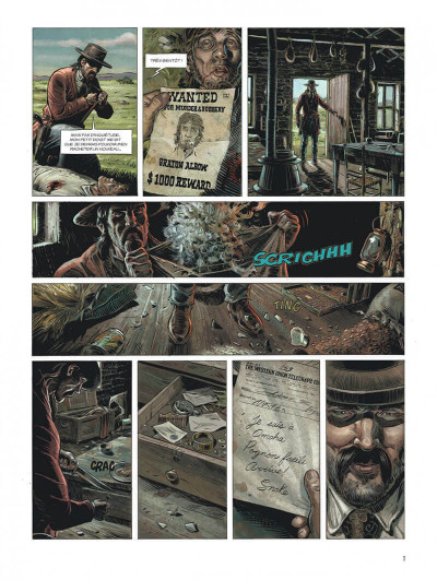 Page 7 Wild west tome 1