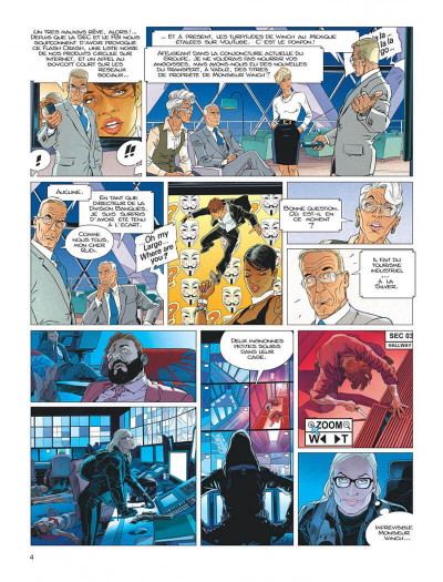 Page 4 Largo Winch tome 22