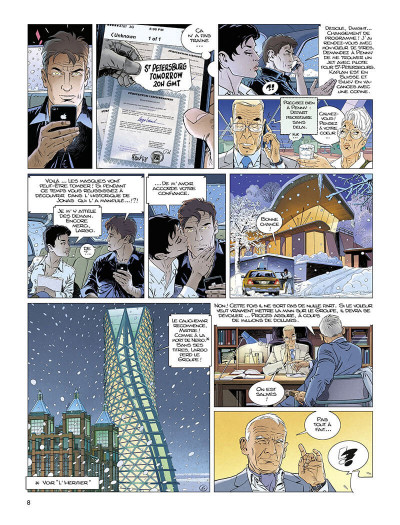 Page 9 Largo Winch tome 22