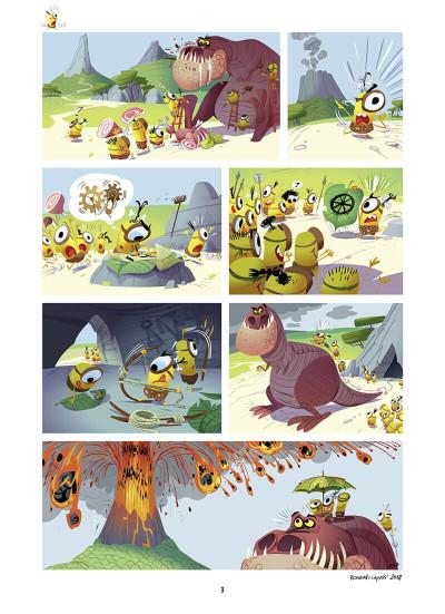 Page 4 Les minions tome 3