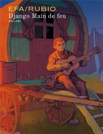 Couverture Django main de feu