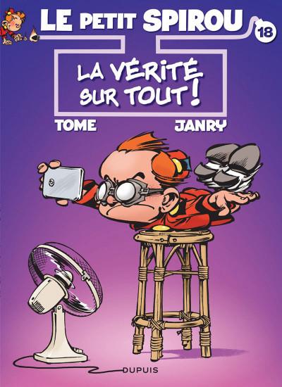 Couverture Le Petit Spirou tome 18