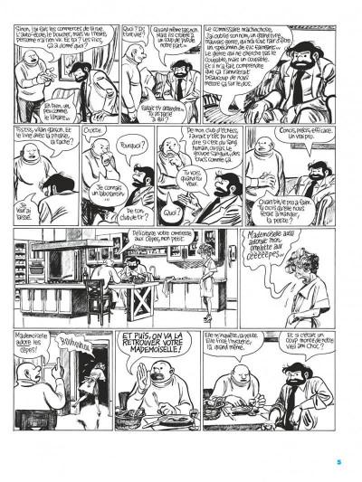 Page 5 Les cahiers Tif et Tondu tome 2