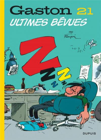 Couverture Gaston (édition 2018) tome 21 - Ultimes bévues
