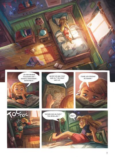 Page 3 La boîte à musique tome 2