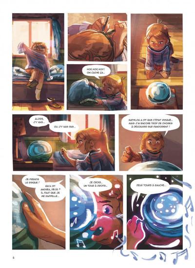 Page 6 La boîte à musique tome 2