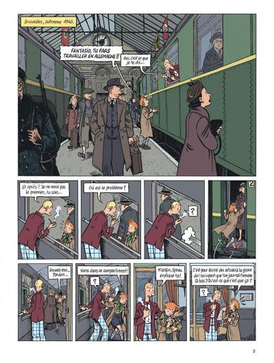 Page 3 Spirou - l'espoir malgré tout tome 2