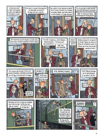 Page 5 Spirou - l'espoir malgré tout tome 2