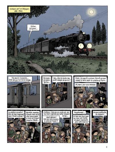 Page 3 Spirou - l'espoir malgré tout tome 3