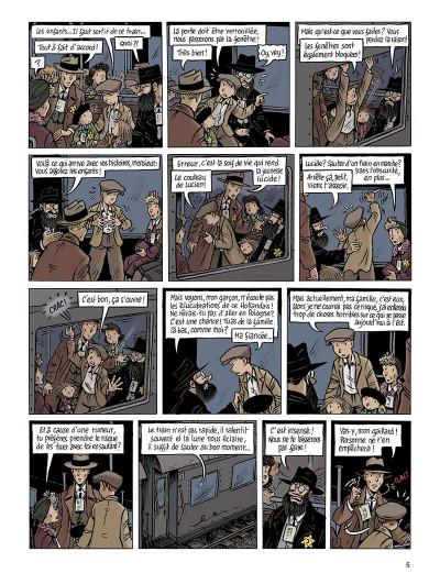 Page 5 Spirou - l'espoir malgré tout tome 3