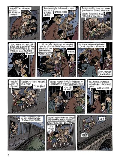 Page 6 Spirou - l'espoir malgré tout tome 3