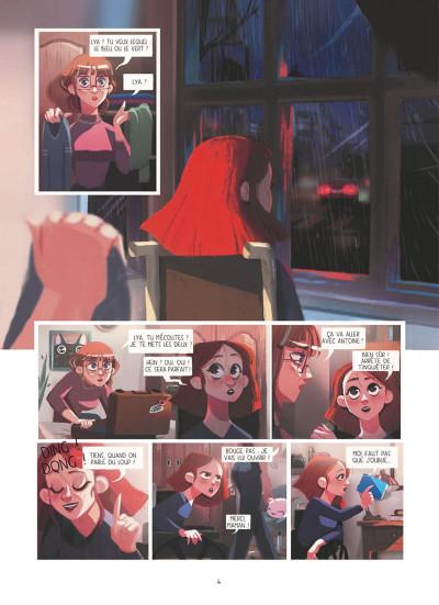 Page 4 Dans les yeux de Lya tome 1