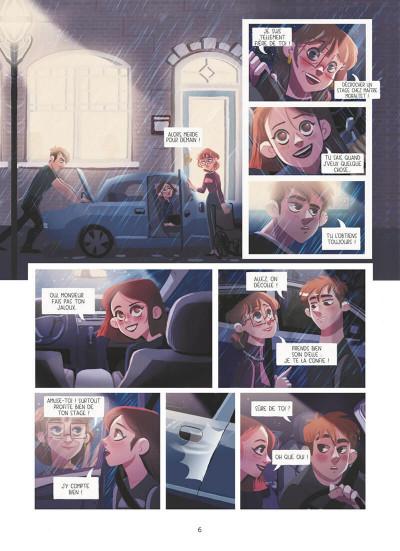 Page 6 Dans les yeux de Lya tome 1