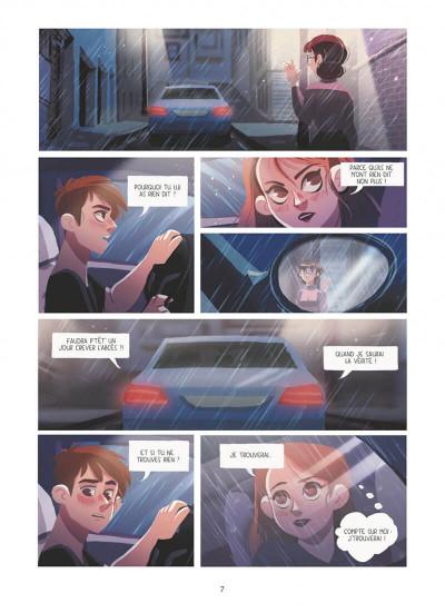 Page 7 Dans les yeux de Lya tome 1
